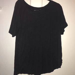 Plus size black tee from Nordstrom